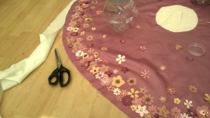 The making of a princess cape