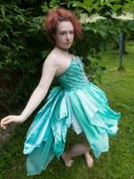 Sea Green Mermaid Dress Tutorial 10