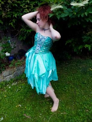 Sea Green Mermaid Dress Tutorial 2