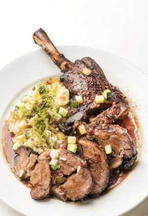 17-Team 1- Braised lamb leg with Risotto- Mike