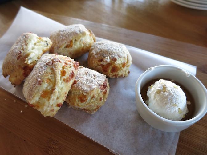 Cheddar Peppercorn Biscuits