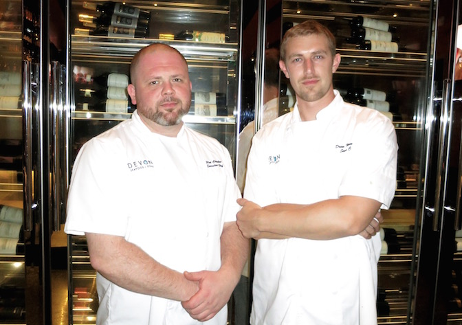 Devon Chefs Rod and Drew
