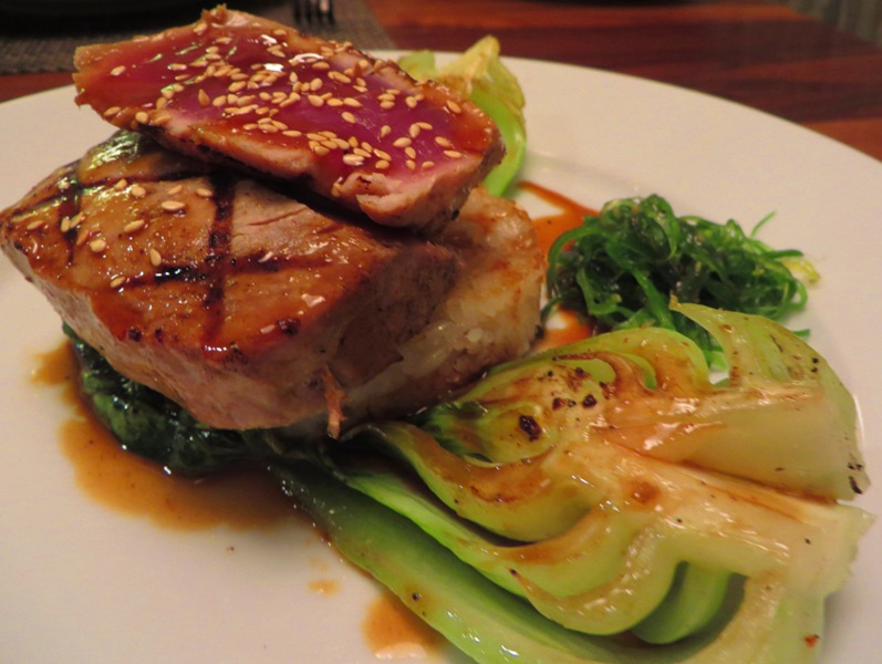 McCoy's Oceanfront FIVE SPICE GRILLED TUNA