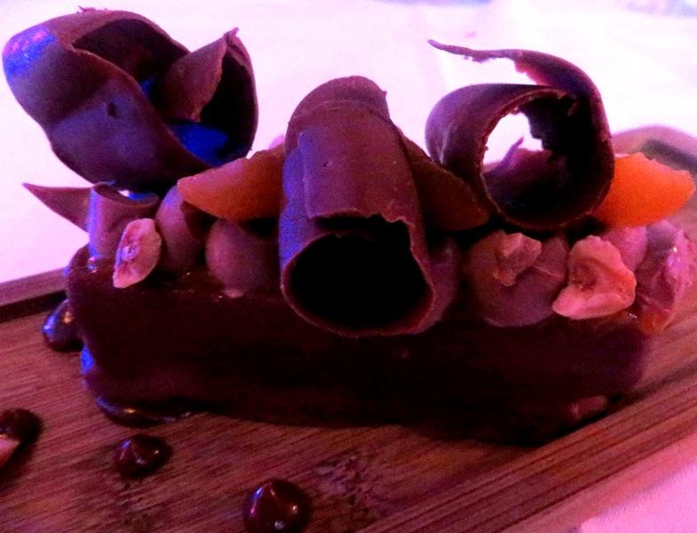 Villa Azur Miami – chocolate cake dessert
