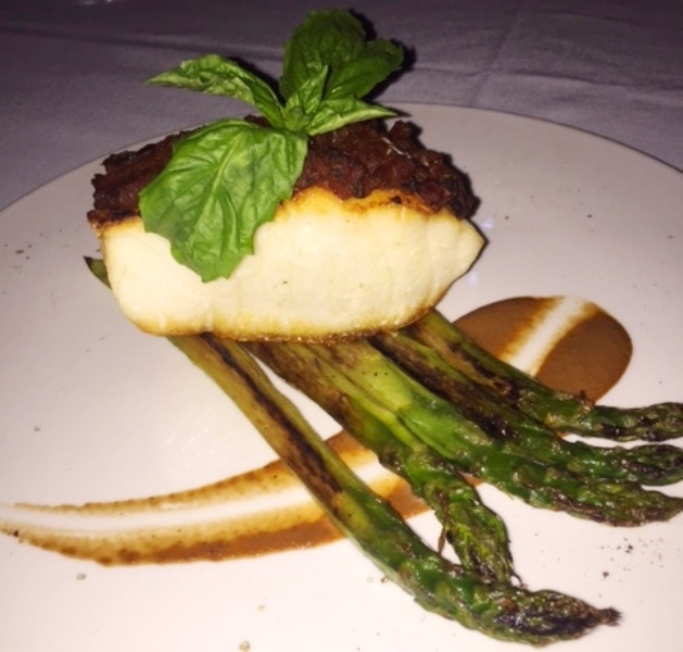Villa Azur Miami-Roasted Sea bass