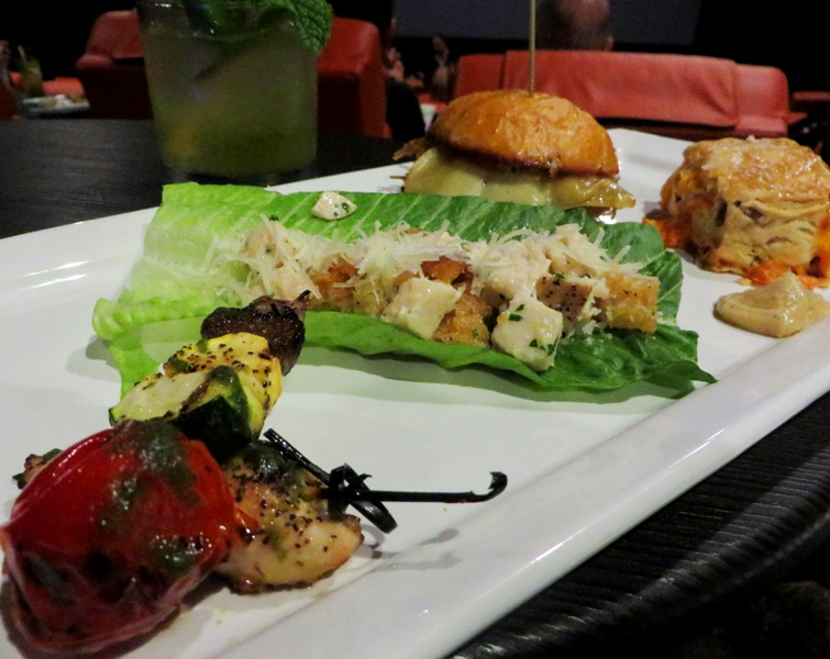 ipic theater - north miami - sampler plate