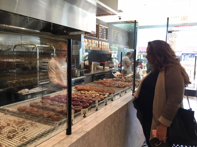 Sidecar Doughnuts display