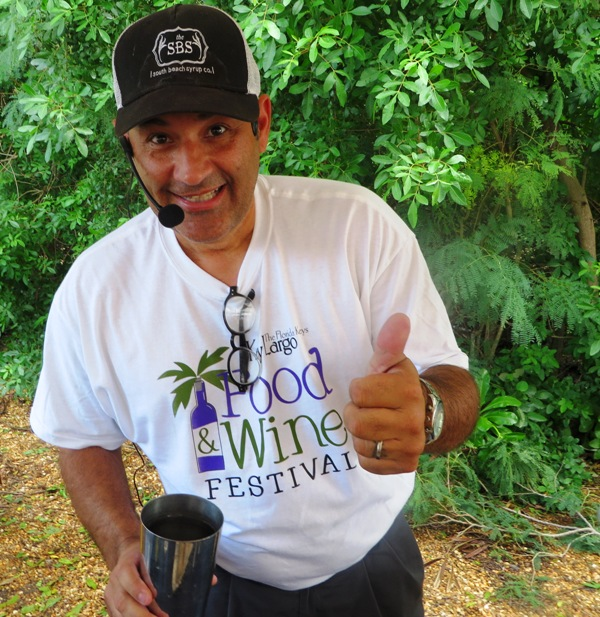 Key Largo Food and Wine Festival - Pelican Cove Resort_mixologist david ortiz - st georges spirits
