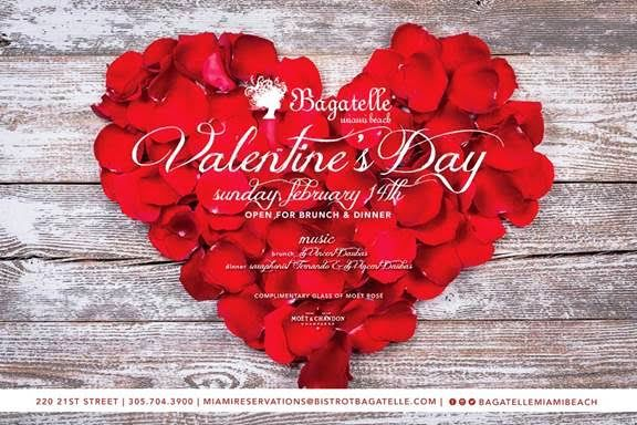Bagatelle - Valentine's Weekend – Miami