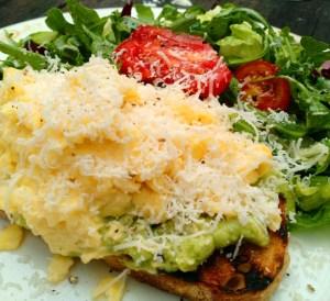 Louie Bossi Fort Lauderdale – brunch -avocado toast