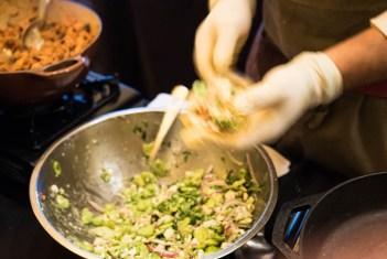 Grand Tasting NJWFF ninety acres taco prep