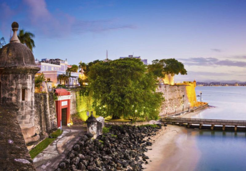 Spring Break Vacation - old san juan - courtesy of San Juan Marriott Resort - Stellaris Casino