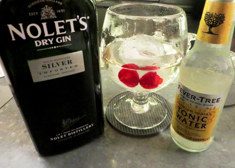 Traymore Gin Bar Miami – nolets gin and tonic
