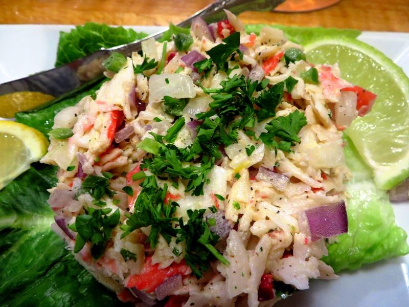 Captain jim's seafood market - crab salad