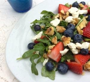 Mother's Day Brunch Fruit Salad Close