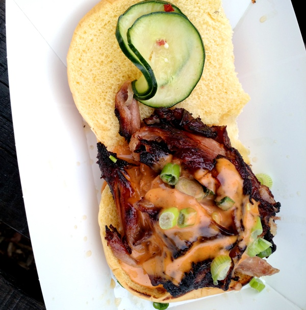 Wynwood Yard Summer Preview – cracklin duck sandwich - dim ssam a gogo