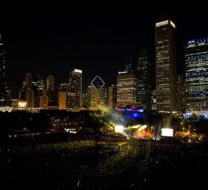 Lollapalooza 2016 City Scape