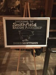 Smithfield Bacon Workshop w/ Ingrid Hoffman
