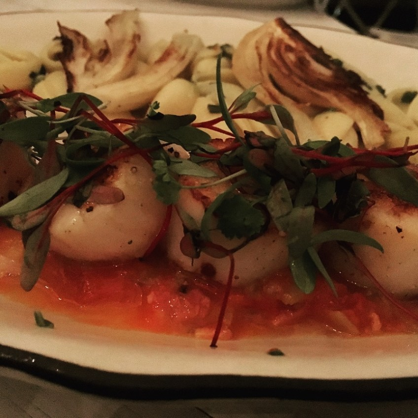 grand-banks-New York staycation-scallops
