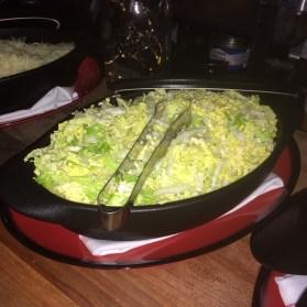 American Social Taco Bar Topping Nappa Cabbage