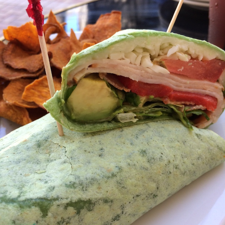 South Pointe Tavern turkey blt wrap