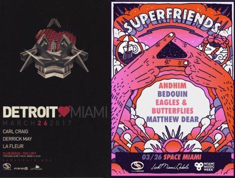 Miami Music Week - Detroit Love/Superfriends