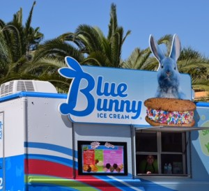 Blue Bunny Ice Cream Sandwich Truck