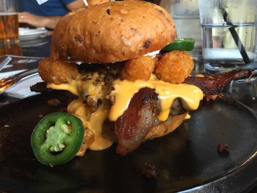 Slater's 50/50 Totcho Burger 3