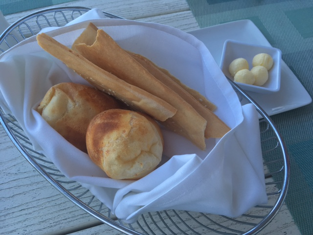 Gili's Beach Club Pan De Bono Sesame Bread
