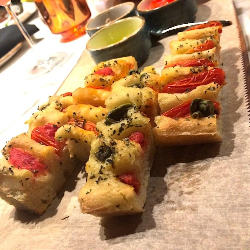 Zucca Focaccia bread