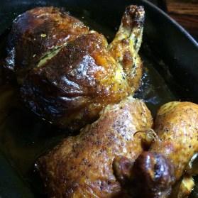 BLT Roasted Half Chicken