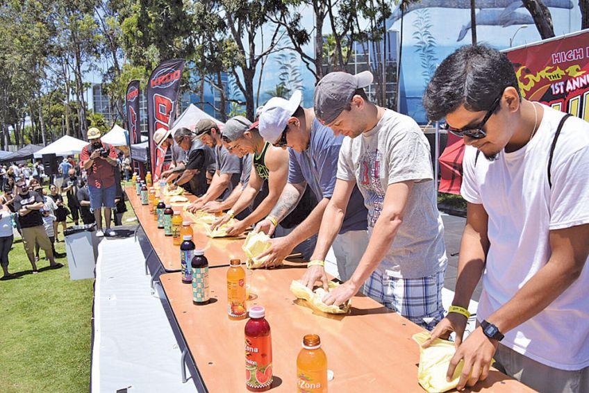 California Hot Sauce Expo contest
