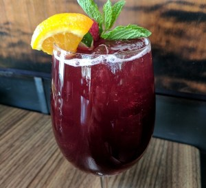 Jimmy's Famous American Tavern Blackberry Sangria