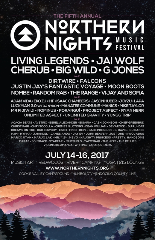Northern Nights Festival Line Up