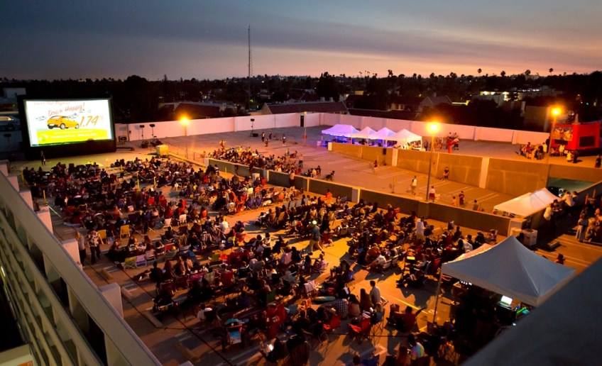 Rooftop Cinema Series pic 1