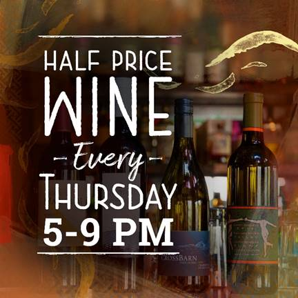 Dragonfly Robata Orlando launches new Half Price Wine Thursdays.