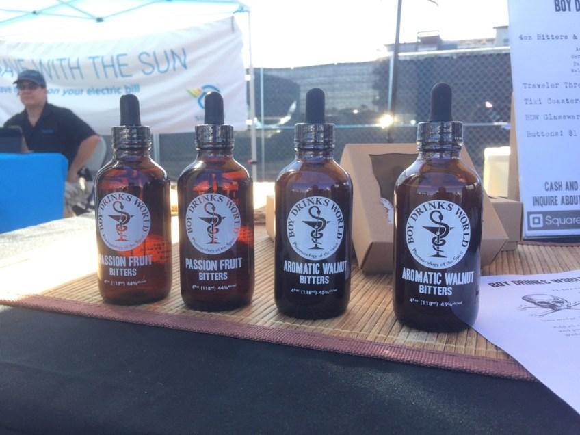 CA Hot Sauce Expo Boy Drinks World Bitters