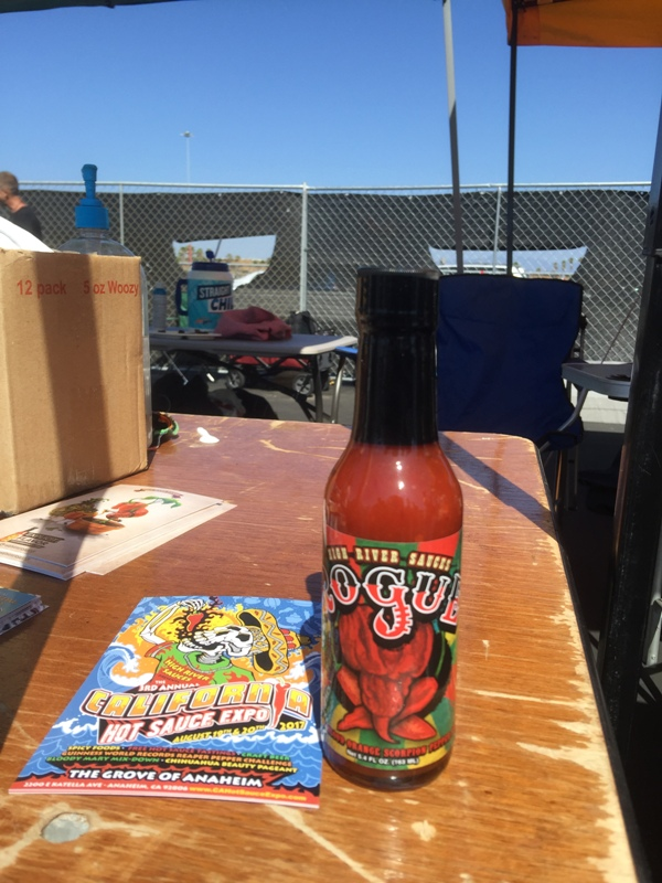 CA Hot Sauce Expo High River Sauces Rogue Sauce