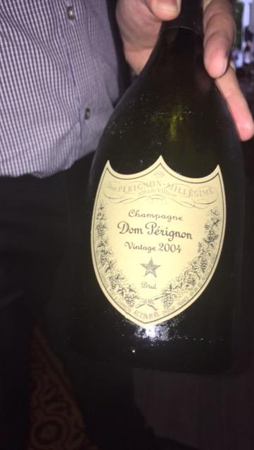 Dom Perignon 2004 Villa Azur
