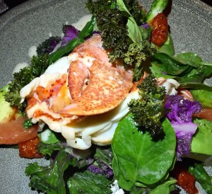 LT Steak and Seafood - Lemon Poached Lobster Salad