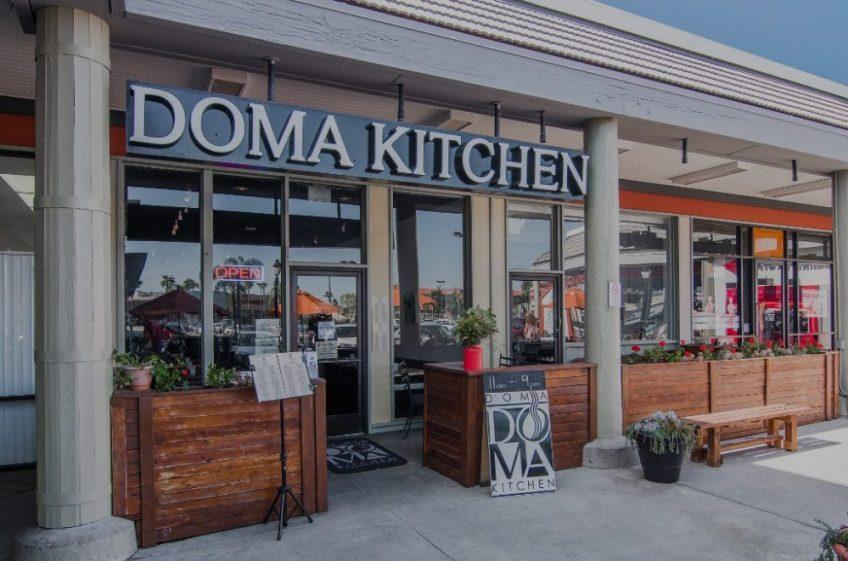 DOMA Kitchen Exterior