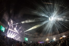 mind melt stage + disco ball iii points music festival 2017