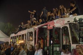 iii points music festival 2017 school bus