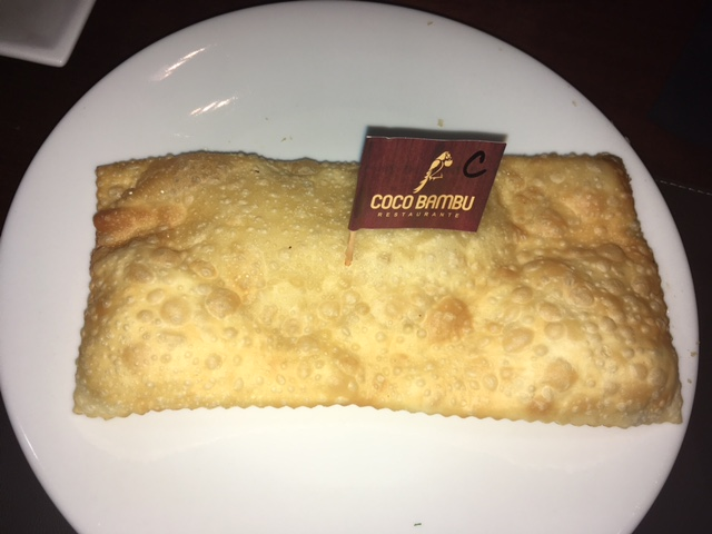 Coco Bambu Cheese PAstry