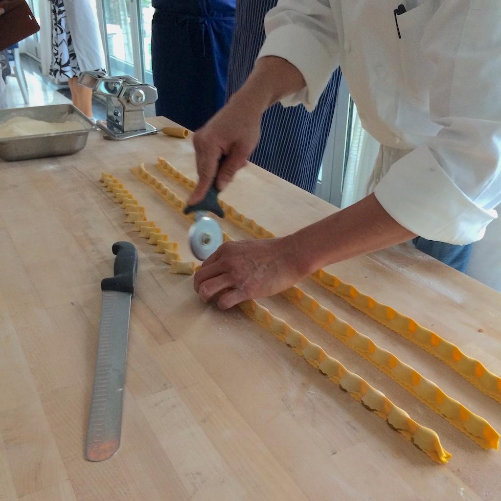 Scarpetta Pasta Making Step 10