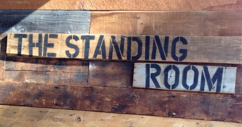 The Standing Room Signage