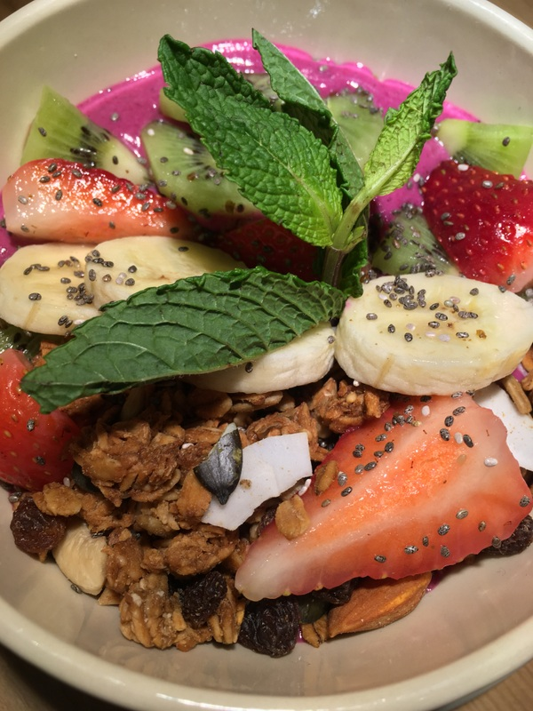 Le Pain Quotidien Dragon Fruit Bowl
