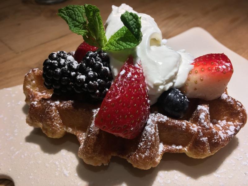 Le Pain Quotidien Warm Belgian Waffle