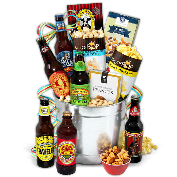 Valentine's Day 2018 Beer Basket