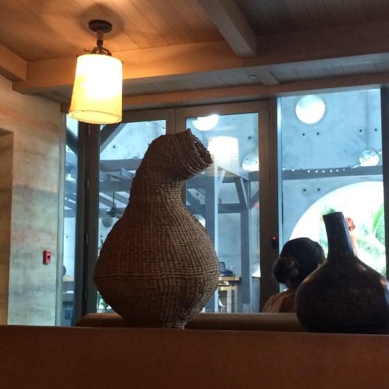 Quinto La Huella Weave Basket Sculpture